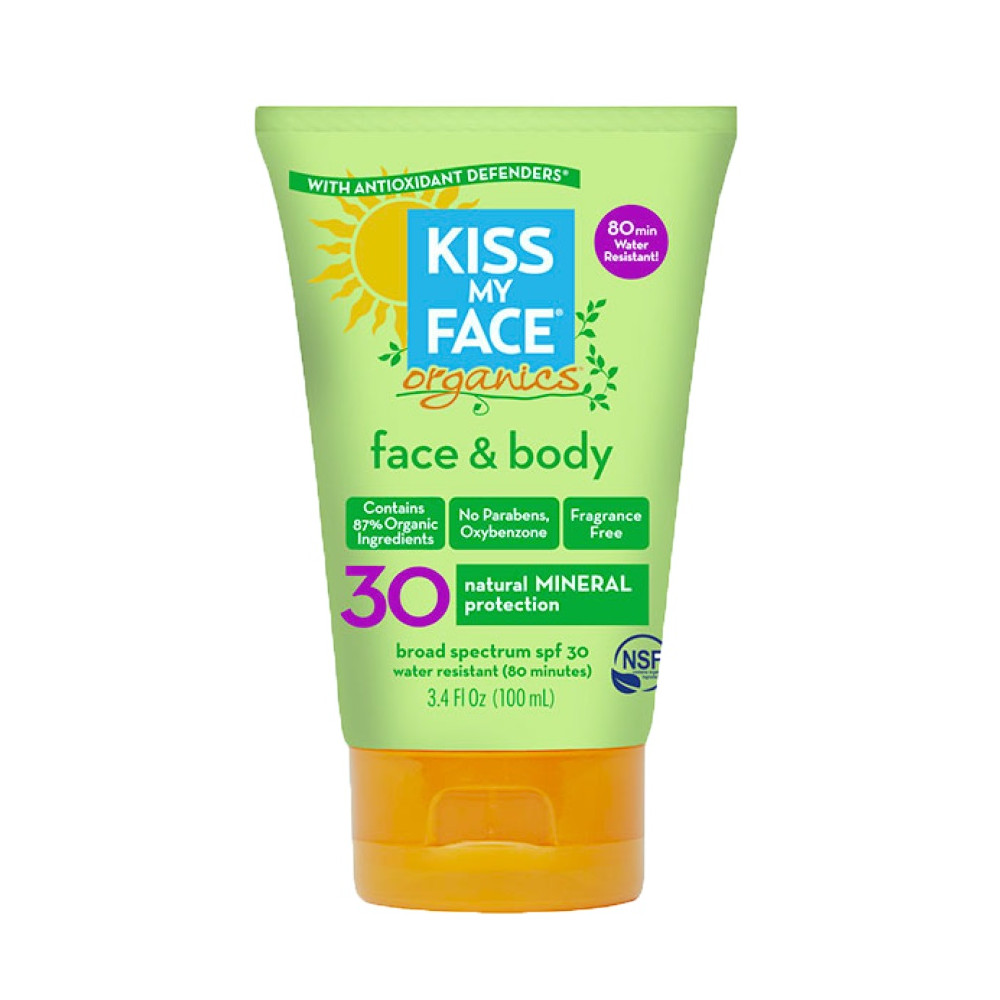 Protector Solar Mineral Organics Face & Body