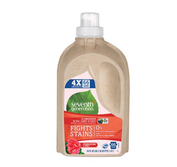 Detergente Natural para Ropa de Geranio y Vainilla