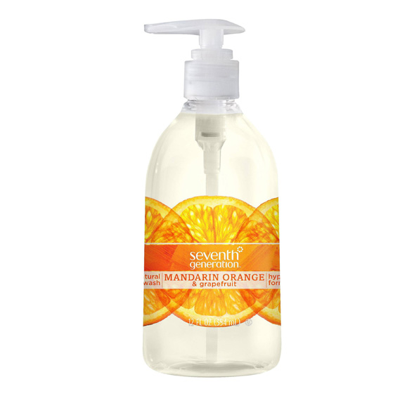Jabón Natural de Manos de Mandarina y Toronja