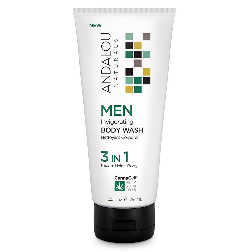 Invigorating Body Wash 3 in 1