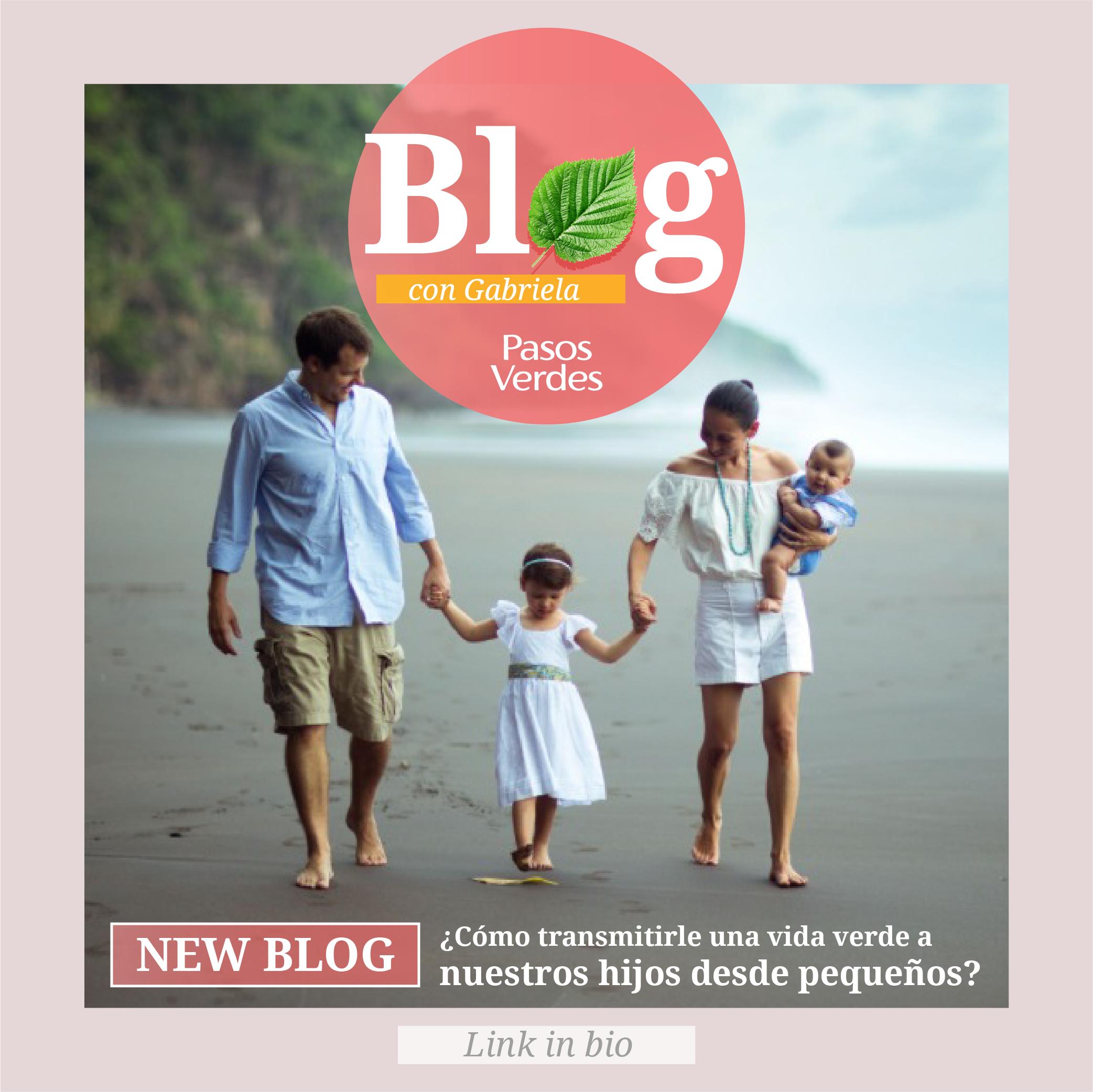 ¿Como transmitirle una vida verde a nuestros hijos desde pequeños?