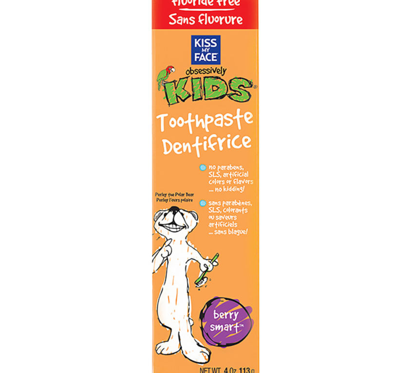 Obsessively Kids Berry Smart Gel Fluoride Free Toothpaste