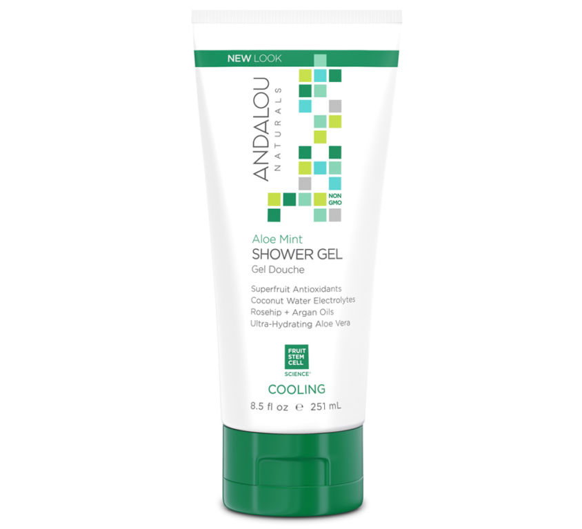 Aloe Mint Cooling Shower Gel