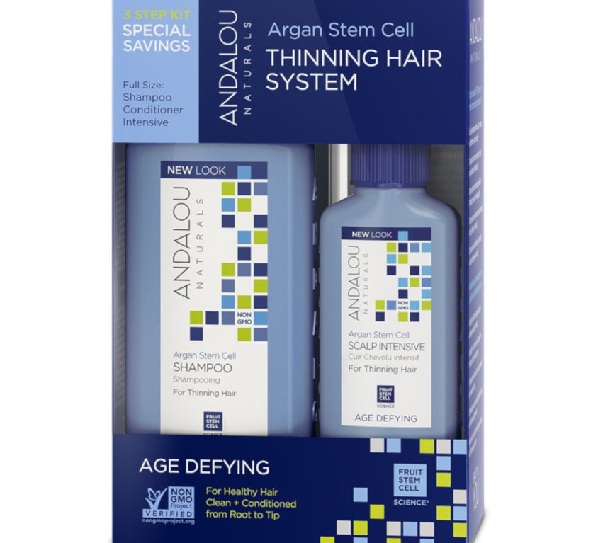 Argan Stem Cell Age Defying Thinning Hair System
