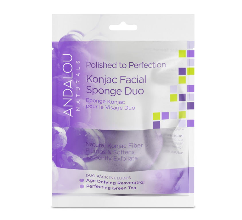 Polished to Perfection Konjac Facial Sponge Duo