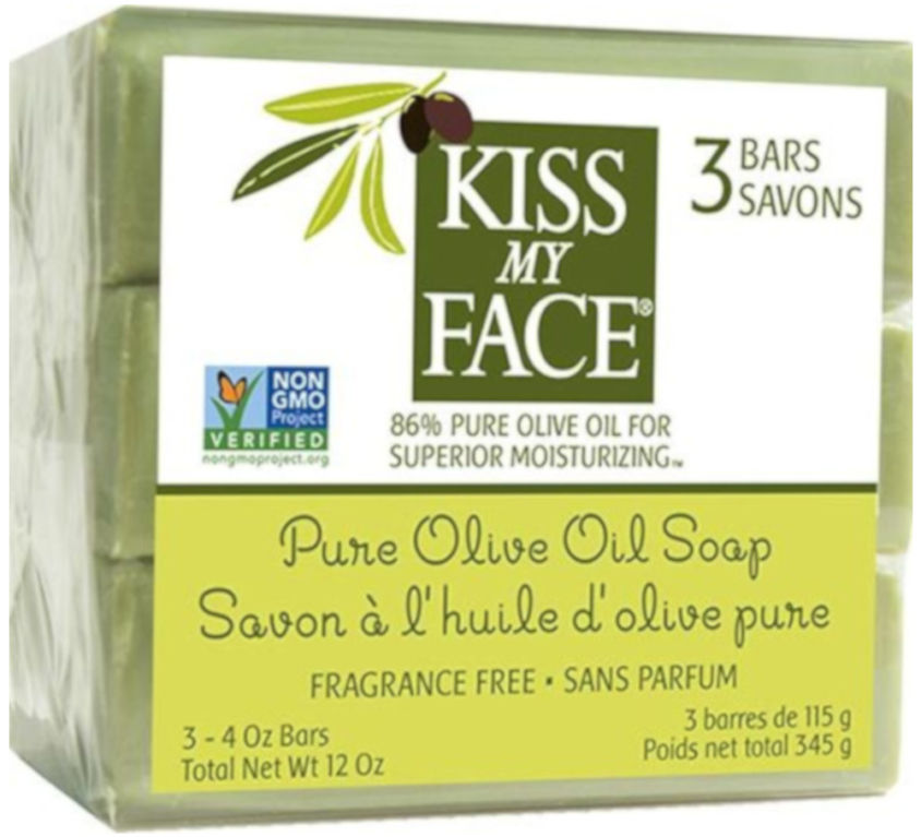 Olive Oil Bar Soap 3 pack