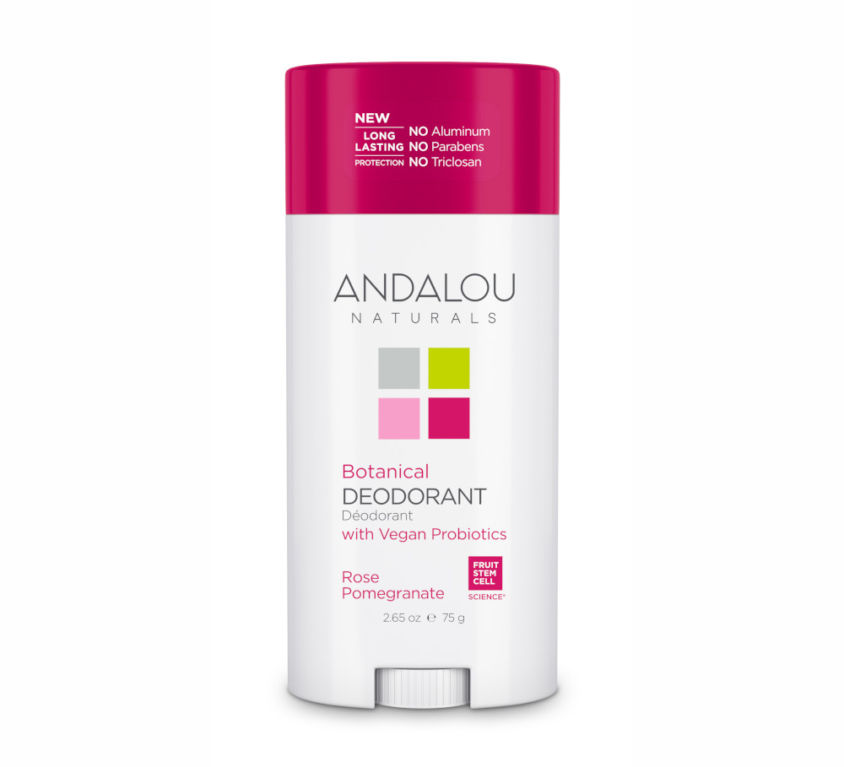 BOTANICAL DEODORANT – ROSE POMEGRANATE